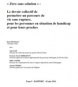 Rapport Piveteau